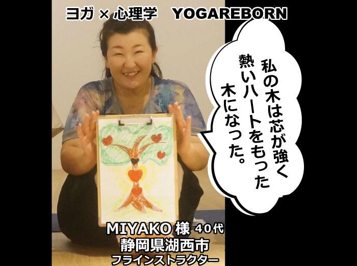 アートセラピー,バウムテスト,miyako,ヨガリボーン